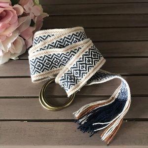 •Madewell• Woven belt